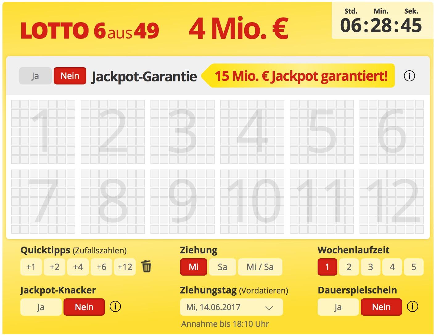 Bis Wann Kann Man Heute Lotto Spielen