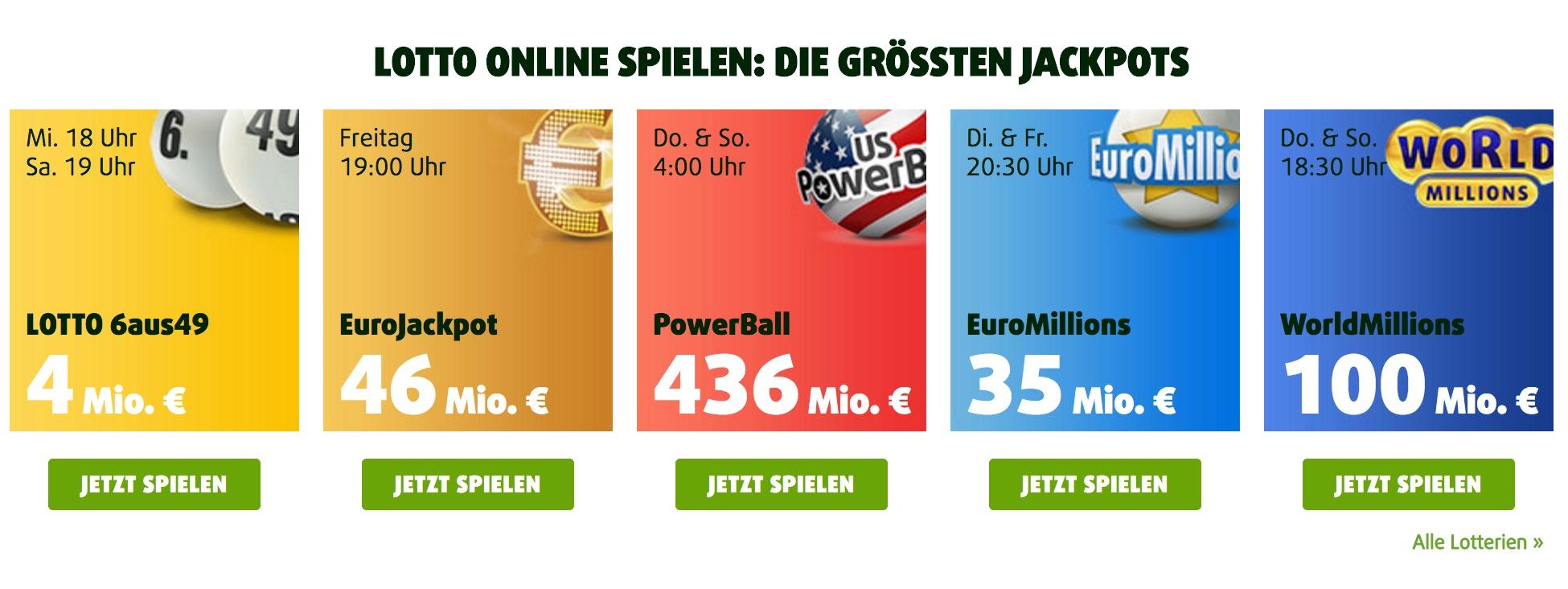 Euromillions Gewinnwahrscheinlichkeit