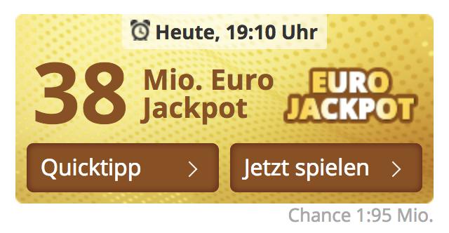 Eurojackpot 13.12 19